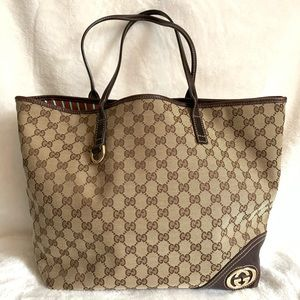 GUCCI New Britt Tote Bag